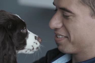 Video: Vancouver Whitecaps' Nicolás Mezquida at Dogtopia