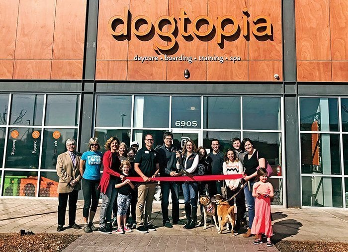 overland park dogtopia grand opening